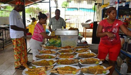 El restaurante Donde Fanso, en el distrito panameño de Río Abajo.